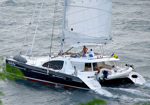 The Big Dog 65′ cat take 10% off rates