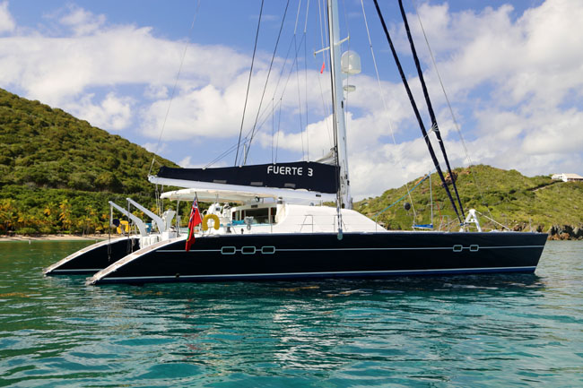 Fuerte 3 67′ cat take 20-25% off rates GREAT DEAL!!