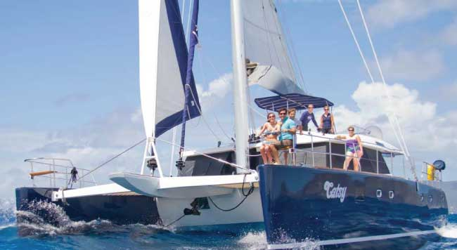 Family friendly yacht charters in the Caribbean